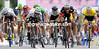 The sprint into Cap Frehel is on - Cavendish fights it out with Thomas, Gilbert, Rojas and Hushovd...