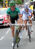 Thomas Voeckler has gone on the attack, but he has ex-escaper Roy with him - they gain 45-seconds...