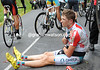 Frederik Willems has broken his collar-bone and is out of the Tour...