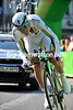 Australia's Leigh Howard rocketed around the course to take 3rd-place at just one-second...