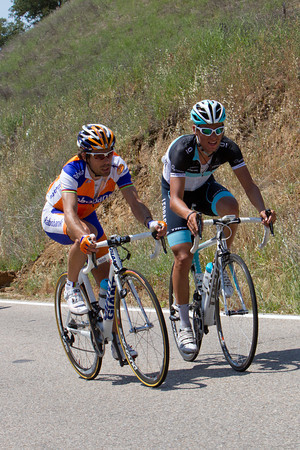 It is just Freire and Denifl left now from the original escape, they still have over 2 minutes on the peloton...
