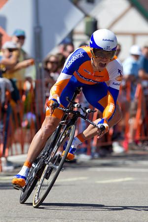 Grischa Niermann took 20th at 1:34.