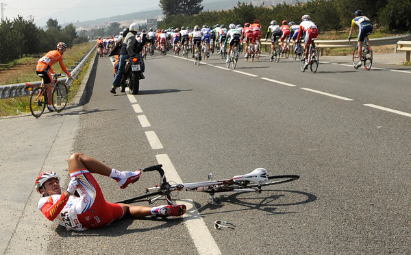 A Colombian rider is also in the wars today...