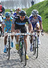 Edvald Boasson Hagen and Lars Boom have caught the leaders after the Eikenberg climb - they form a new escape with even more power...