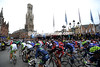 The Tour of Flanders leaves Bruges at the start of a long, long day...