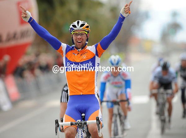Michael Matthews wins stage one of the Tour of Murcia - what a talent he is..!