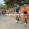 Ion Izagirre attacks, but is trailed by a Movistar rider...