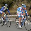 Johannes Frohlinger and Jose Luis Roldan lead an early escape...