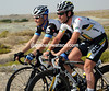 MARK CAVENDISH AND ROGER HAMMOND ON STAGE THREE OF THE 2011 TOUR OF OMAN