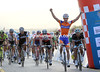 Theo Bos wins stage three into Sur from daniele Bennati - Matt Goss retains his overall lead by taking 3rd today...