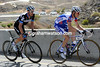 Dries Devenyns and Christian Vande Velde are the closest challengers to Gesink...