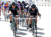 Team Sky has gone berserk at the head of the peloton - because the wind has changed..!