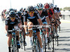 A big group forms at the front, with Haymans, Sutton, O'Grady and Quinziato at the head...