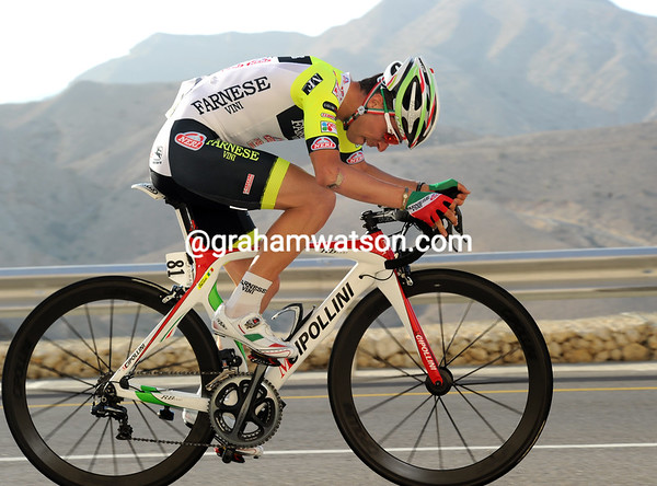 Giovanni Visconto took second place at just 16-seconds...