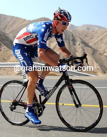 """Taylor Phinney rode as the US TT champion for the first time - he placed 86th at 3' 41""""..."""