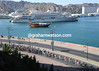 'Al Said' spends most of its days moored in Muscat - the Tour of Oman comes just one week a year...
