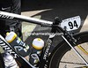 Mark Cavendish's missing seat-post hints at some last-minute problem...