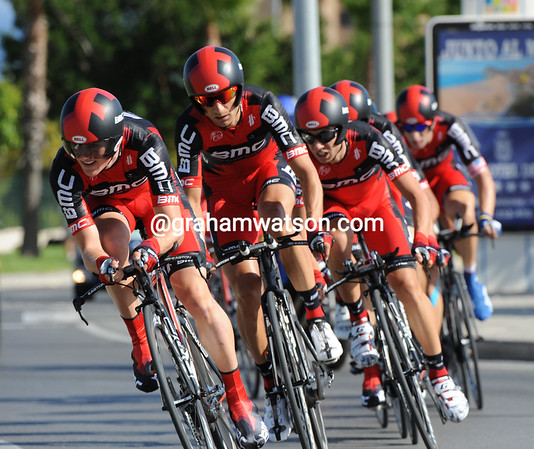 BMC started their first-ever Vuelta by taking 11th place at 27-seconds...