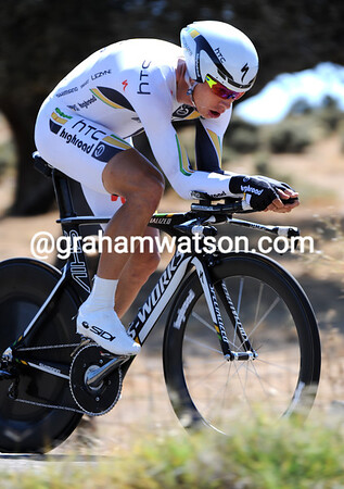Tony Martin produced possibly his best-ever TT by winning the stage at a speed of 54.447-kilometres-per-hour..!