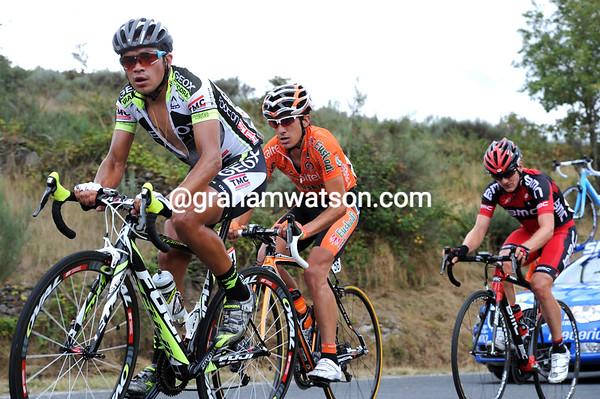 Three men are bridging the gap - Duarte, Nieve and Frank...