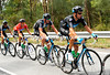 Dario Cioni leads the Sky train at the service of Wiggins...