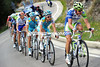 Fuglsang's group includes Nerz, Kessiakoff, Mollema, Nibali and Oliveira - but Sky manages to chase this dangerous move down...