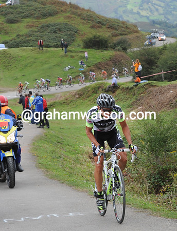 Carlos Sastre has attacked again - this time on L'Angliru..!