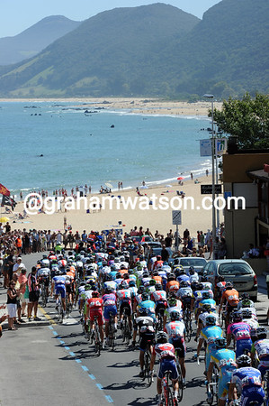 If all day's could start like the Vuelta's has, near Noja..!