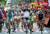Daniele Bennati wins into Vitoria to give Leopard-Trek its first - and possibly last - Vuelta stage-win..!
