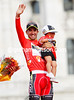 Juan Jose Cobo can finally relax as winner of the 2011 Vuelta a España..!