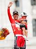 Juan Jose Cobo can finally relax as winner of the 2011 Vuelta a España..!