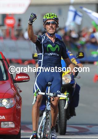 Pablo Lastras wins stage three into Totana..!