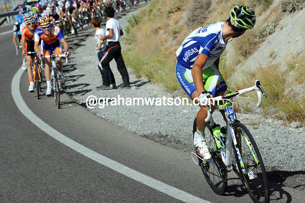Ciao! Vincenzo Nibali has attacked, just to see how strong the others are...