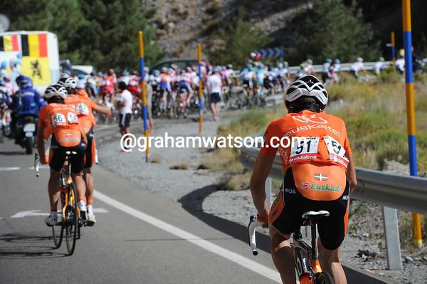 Igor Anton has been dropped with 10-kilometres to go...