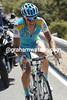 Alesandre Dyachenko has made an attack with 13-kilometres to go...