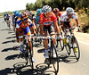 In a show of strength, race-leader Sylvain Chavanel has attacked and established a 20-man escape..!