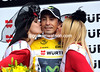 Mauricio Solar has become race-leader after taking his first victory in four years..!