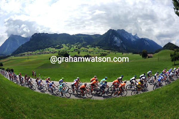 The mountains are behind them, but the Tour de Suisse still has hills to climb...