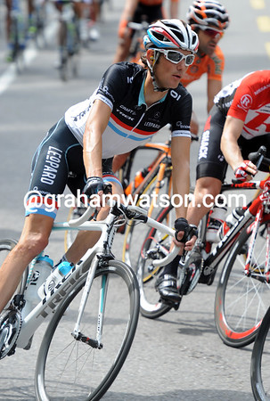 One man not saying much is defending champion, Frank Schleck - he's in with a chance for 2011 as well..!