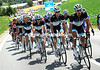 The entire team Leopard-Trek is at the front now, but the real race is on tomorrow's stage..!