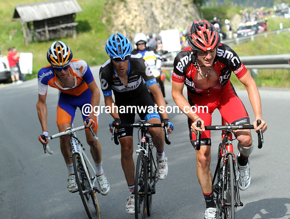 Danielson succeeds in creating a good move for himself, Matthias Frank, and Steven Krujswijk...