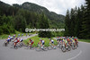 More scenery and more climbs as the peloton arrives in Austria, still seven minutes down...