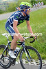 Movistar's Jose Joachin Rojas has attacked on the final ascent...
