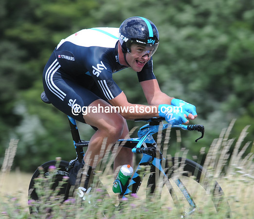 "Ian Stannard took 16th, 1' 29"" down..."