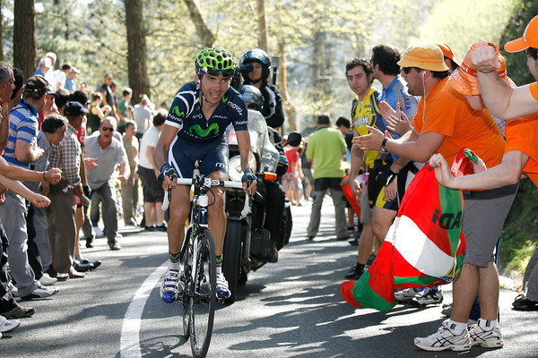 Stage four's finale was animated by an attack from Xavier Tondo...