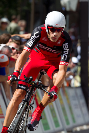 George Hincapie condinued his great form, belying his age - tenth at 1:11 back.