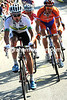 Baden Cooke makes a move and forms a new counter-attack with Bauke Mollema and Niki Sorensen...