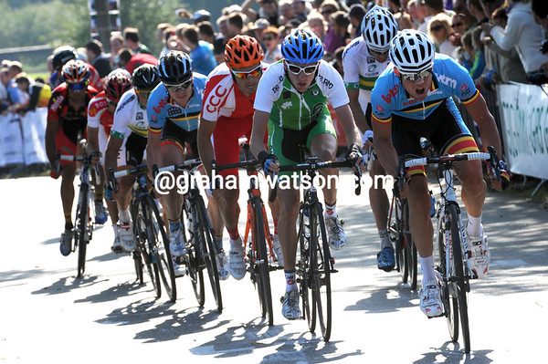 Martin's move now contains Greg Van Avermaet, Nuyens, Gerrans, Barredo and a few others...