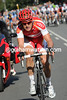 Lars Bak is going after Roux - all of Denmark is on its feet and cheering..!