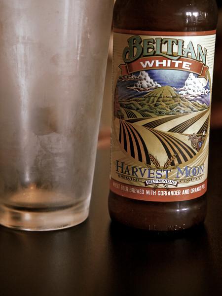 Belgian beer from Belt, Montana